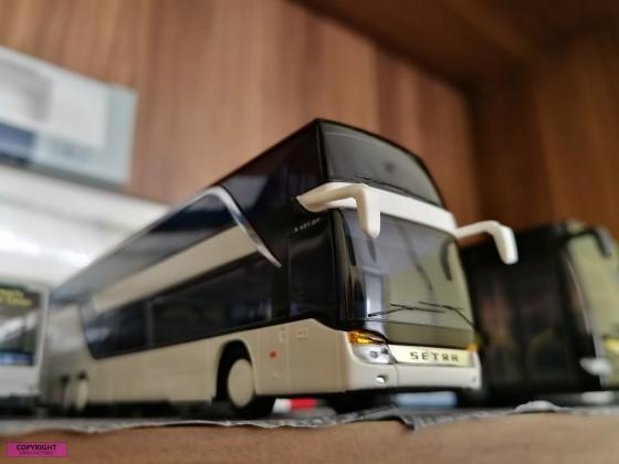 Modellbus Setra S 431 DT
