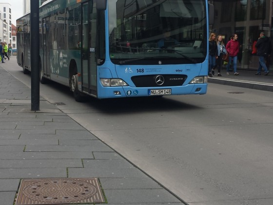Mercedes Benz Citaro O530 G Facelift in Ulm