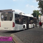 Mercedes Benz Citaro C2 am Bernburger Busbahnhof