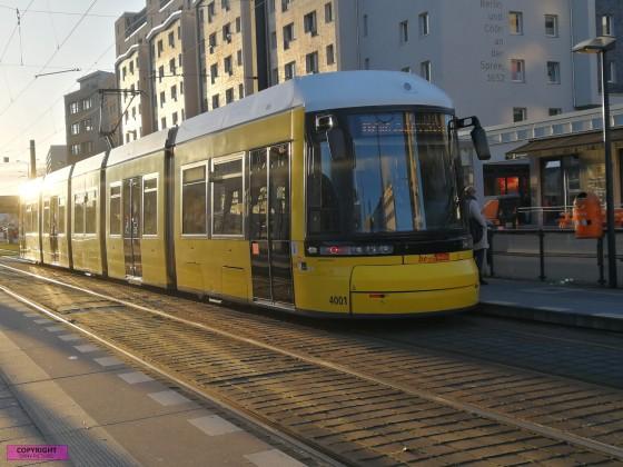 Flexity Straßenbahn [4001] der BVG