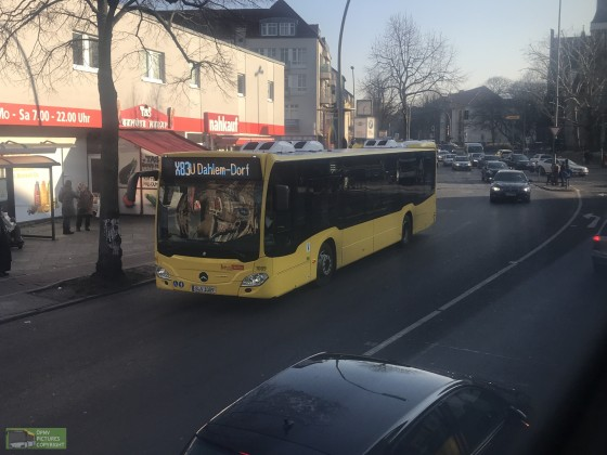 Mercedes Benz Citaro C2 [1009] der BVG an der Lankwitz Kirche