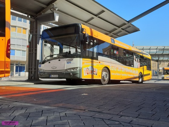 Solaris Urbino 12 der NEWMöbus