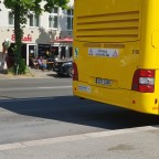 Heck des MAN Lion's City Doppeldecker [3168] am S Lankwitz