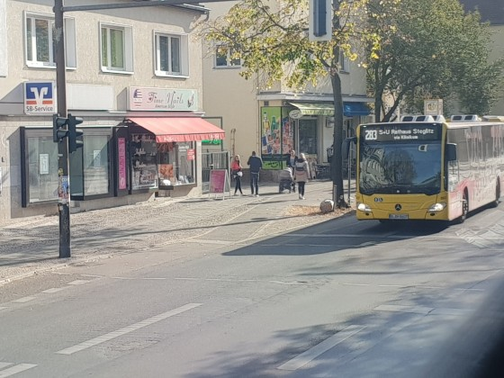 Mercedes Benz Citaro C2 des Subunternehmers der BVG