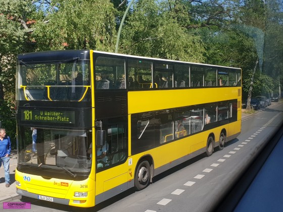 MAN Lion's City Doppeldecker [3414] der BVG