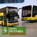 Modellbus MAN Lion's City DD und Mercedes Benz Citaro O530 Facelift