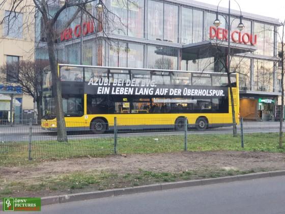 MAN Lion's City DL [3536] am U Kurt-Schuhmacher-Platz