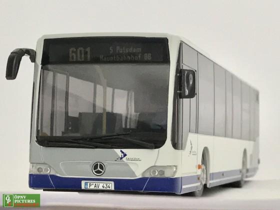 """Modellbus Mercedes Benz Citaro O530 Facelift der """"Havelbus"""" Maßstab 1:18"""