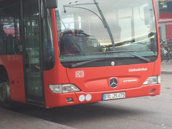 Mercedes Benz Citaro O530 Facelift am Freiburg ZOB