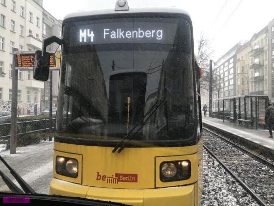 GT6N an der Hufelandstraße
