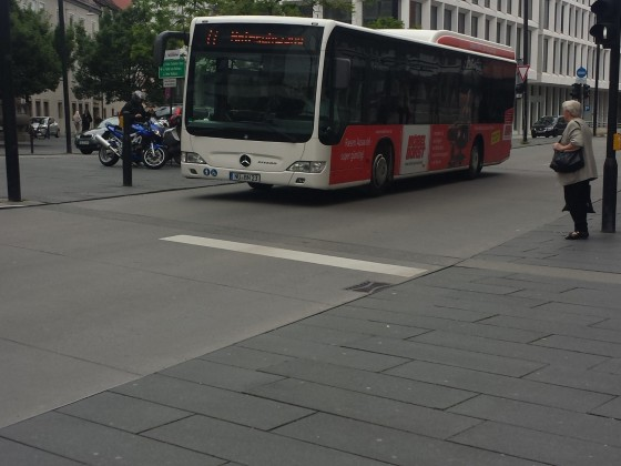 Mercedes Benz Citaro O530 Facelift in Ulm