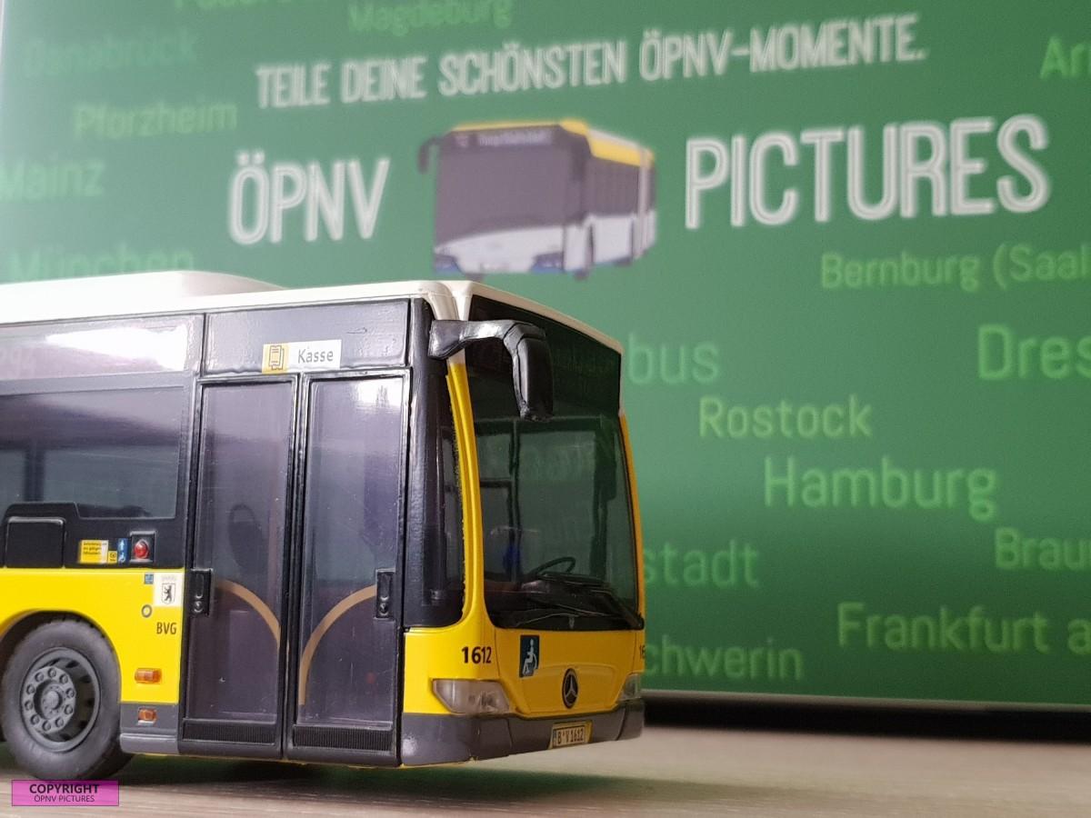 ÖPNV Pictures mit dem Modelbus Citaro [1:87]