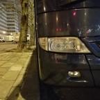 Mercedes Benz Tourismo-Scheinwerfer
