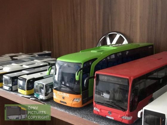 Mercedes Benz Citaro und Flixbus Travego 1:43